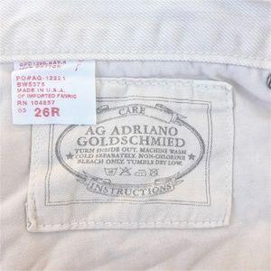 AG Adriano Goldschmied Jeans - AG Adriano GoldSchmied Ex Boyfriend Crop Distress